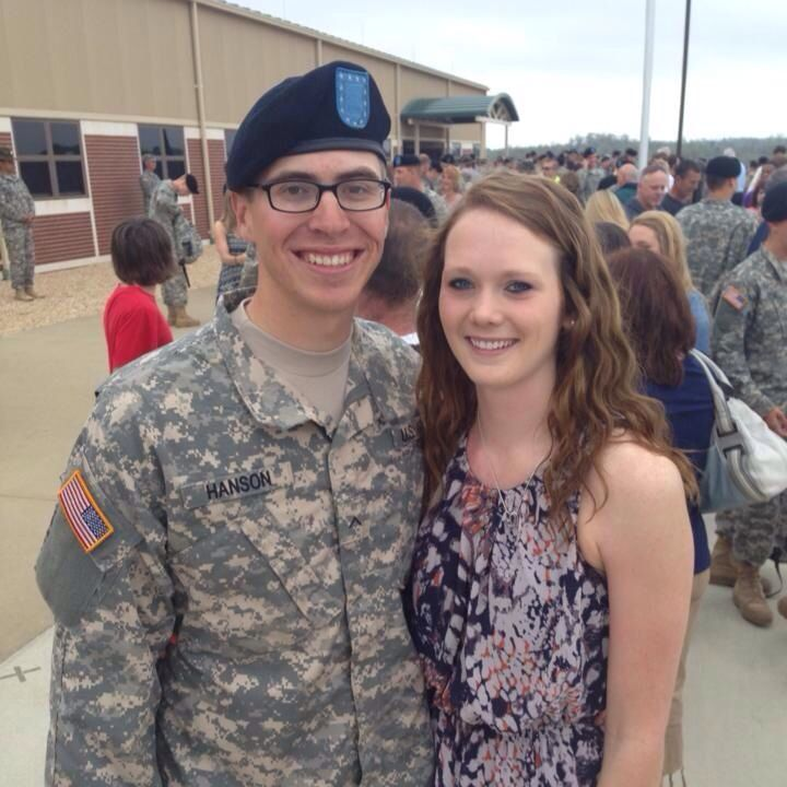 So proud to be Auntie to this Soldier & love his beautiful girlfriend!!