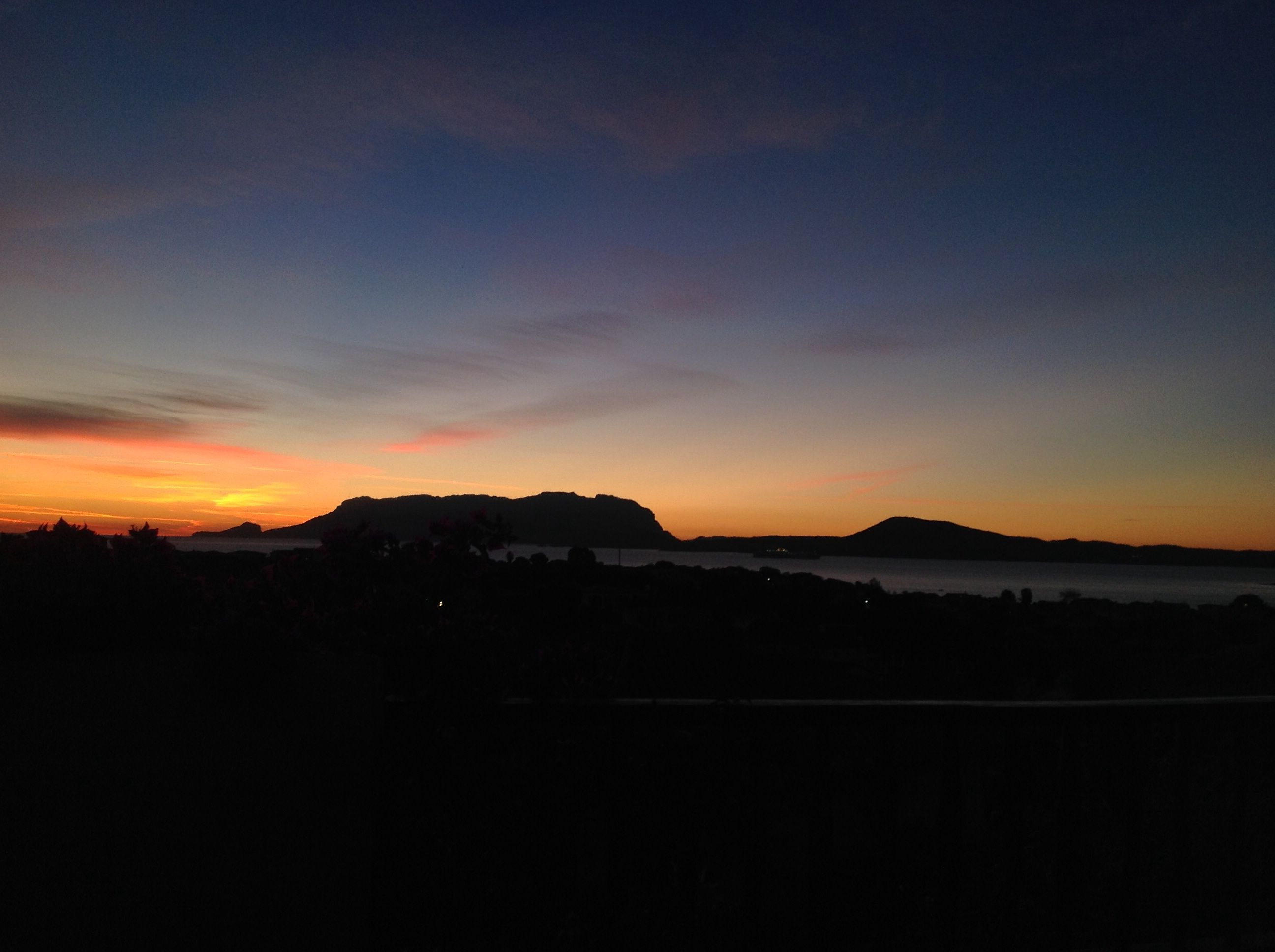 Sunrise from the terrace October 2014