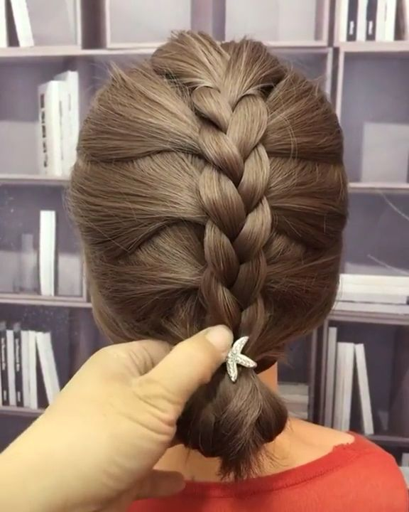 Simple and fast hairstyle ?♀️