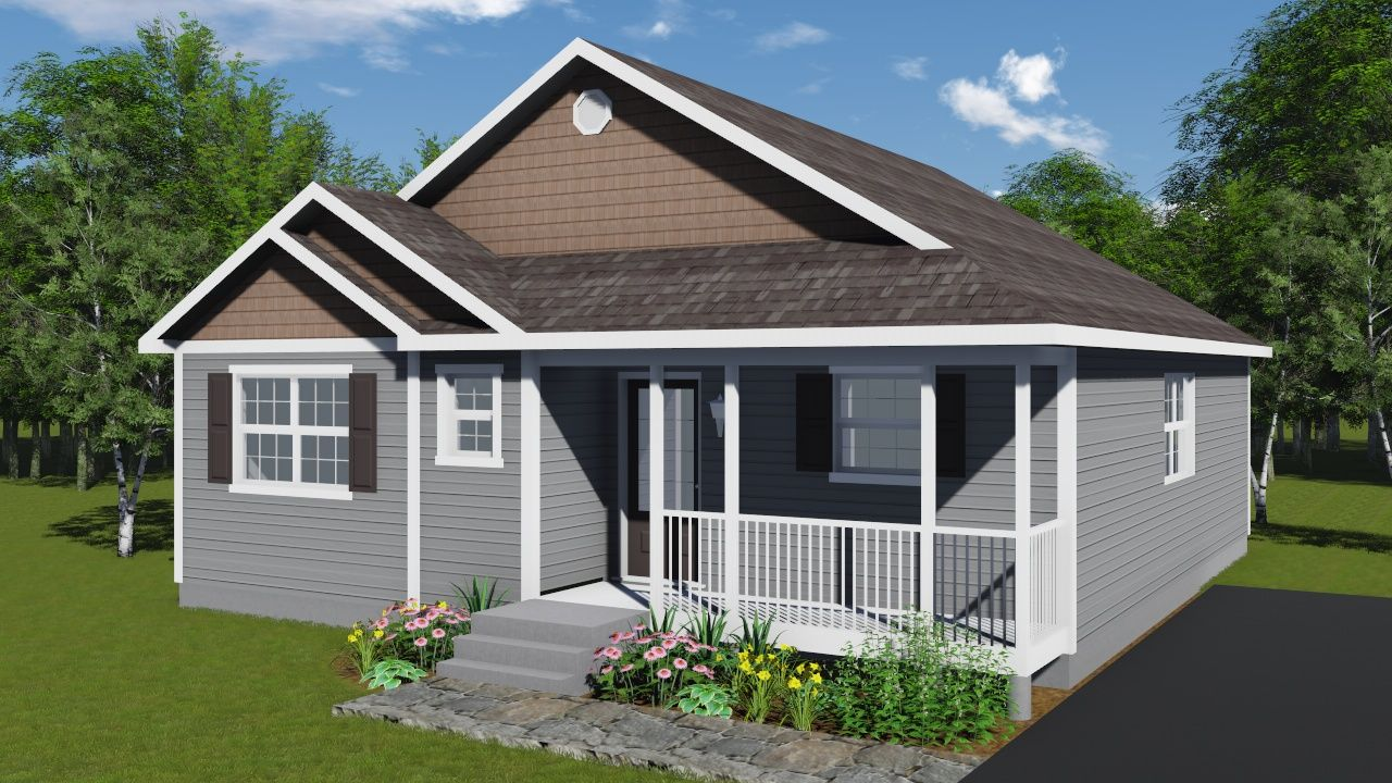 Mulberry Modular Home Floor Plan Bungalows Home