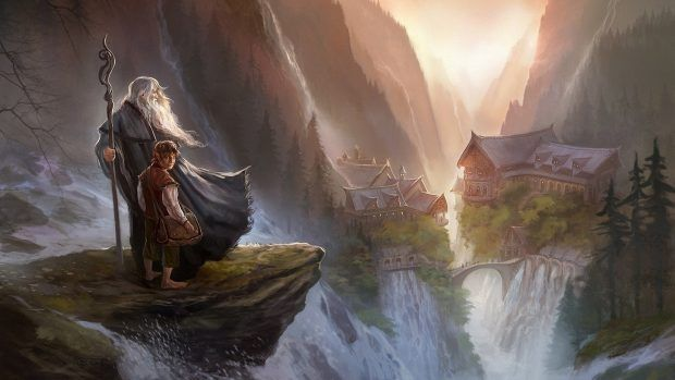 Wallpaper lord of the rings