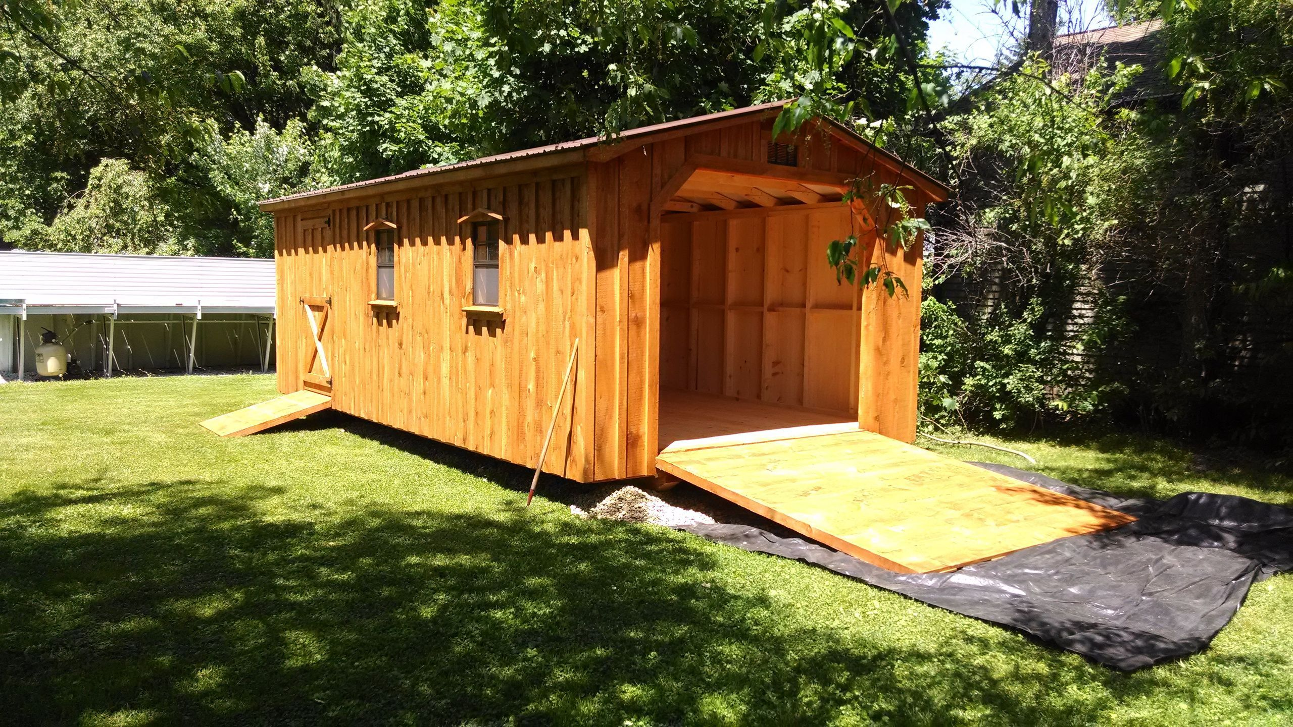 Afab Sales Works With The Amish To Deliver Custom Sheds Cabins