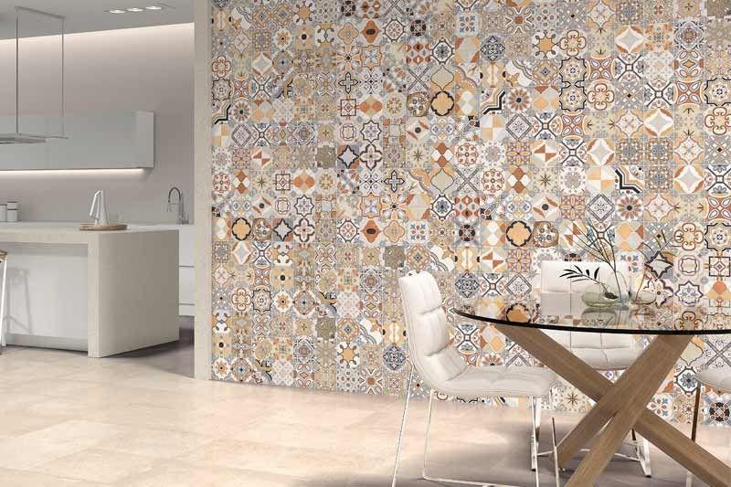 Kasbah 45x45cm Tons Of Tiles Kitchen Wall Tiles Kitchen Tiles Wall Tiles