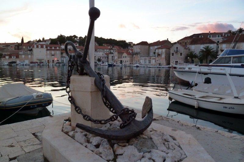 Milna harbour, Croatia