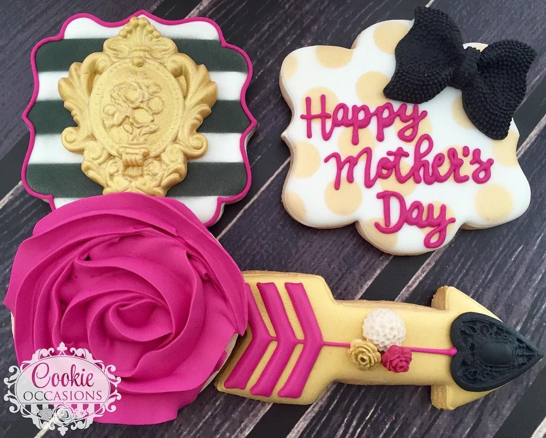 Mother's Day Cookies ... @cookieoccasions ...