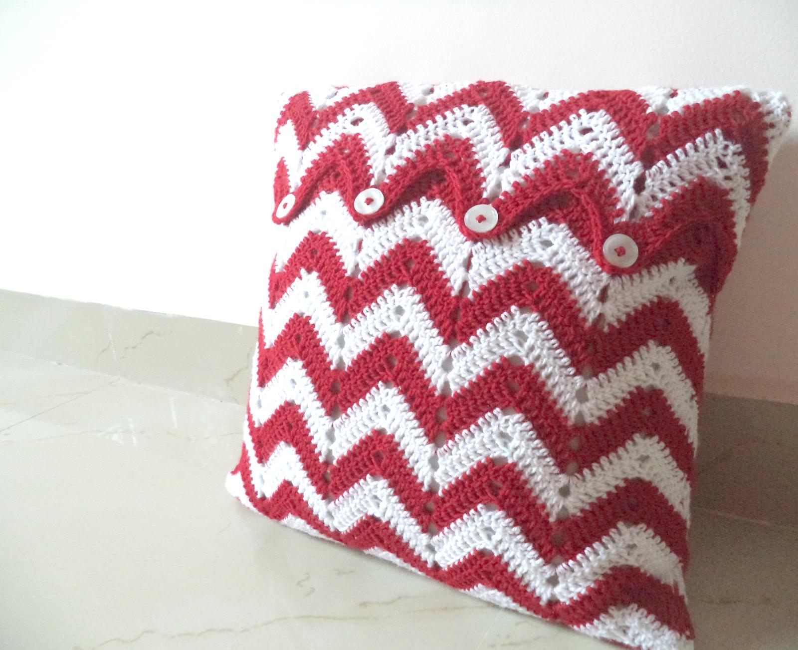 Crochet Cushion Cover Free Crochet Pattern Crochet