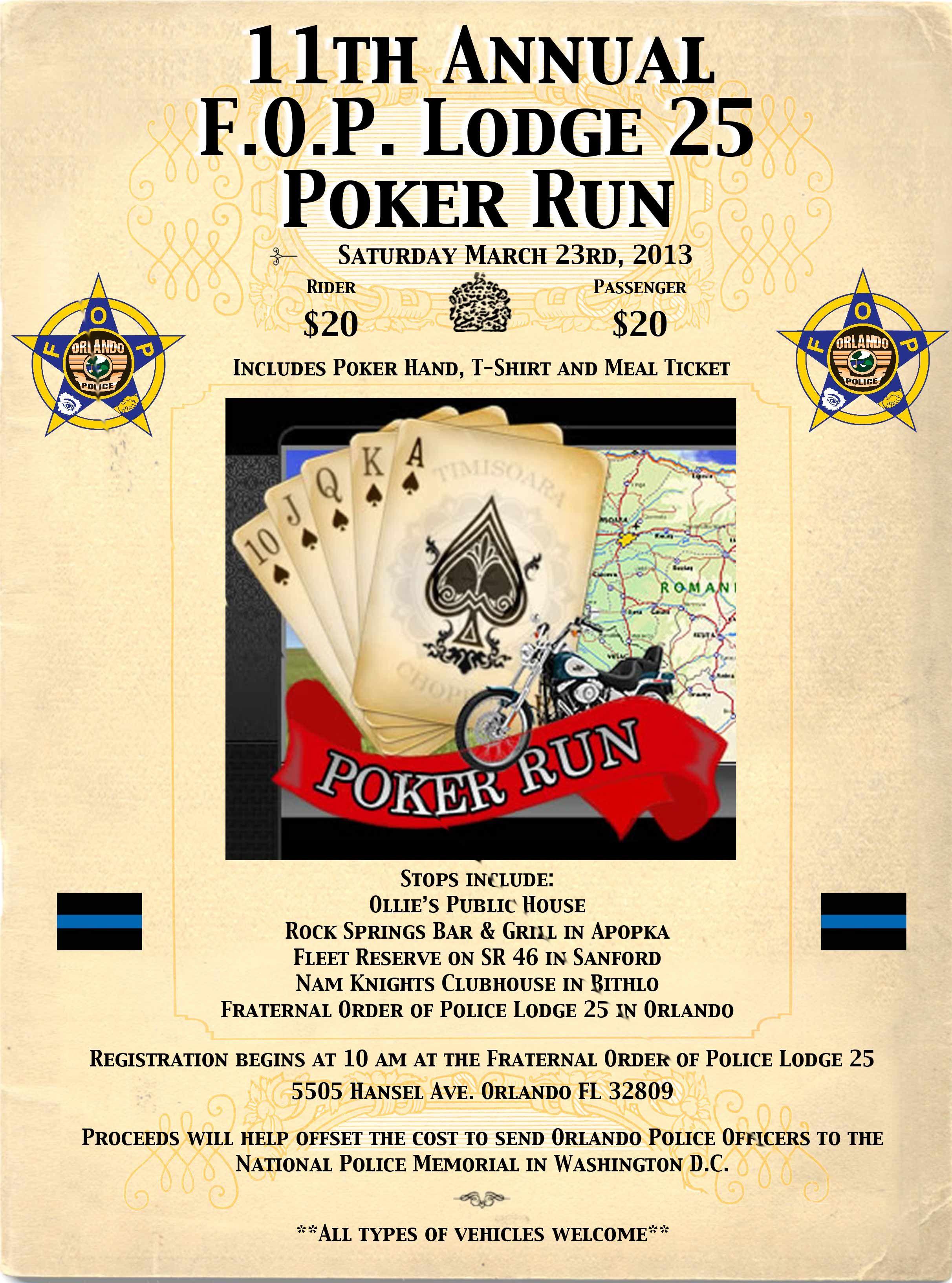 11th Annual Poker Run Flyerg 24243264 Pixels Poker Run Ideas