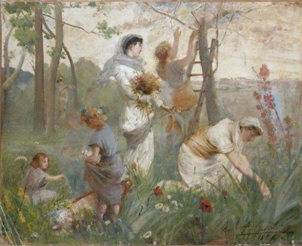 Antoine Calbet - La cueillette
