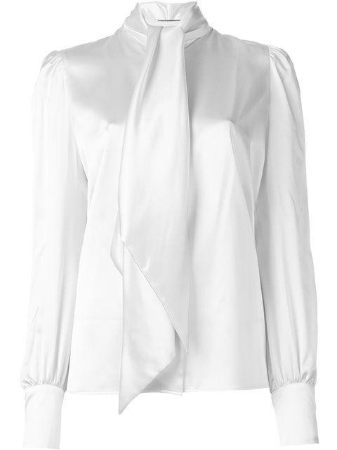 24aee7024379b SAINT LAURENT Neck Tie Blouse.  saintlaurent  cloth  blouse