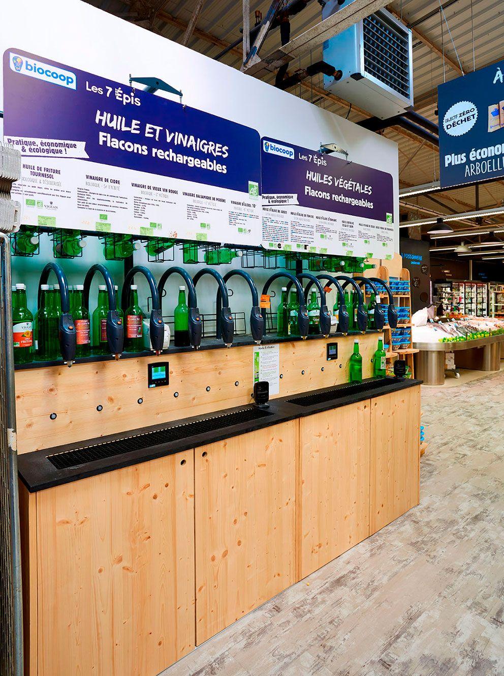 Meubles De Distribution De Liquide En Vrac Bio Creation Bois Magasin Vrac Vrac Magasin Bio