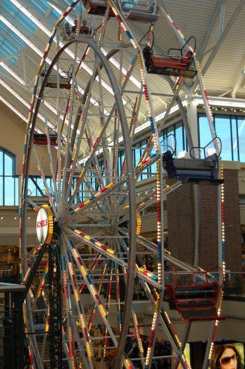 Ferris wheel in Scheels Reno, NV