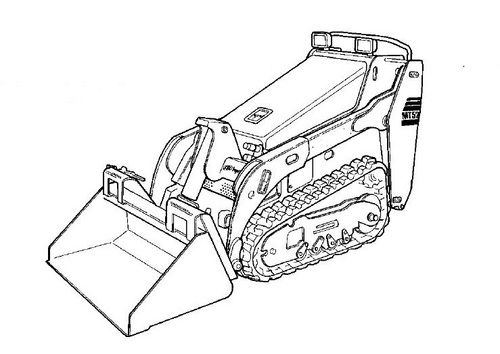 Bobcat MT52 parts catalog Mini track loader Parts manual