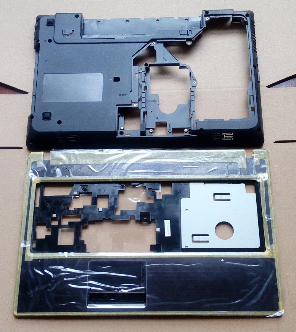"""100% Brand NEW Lenovo G570 G575 Bottom Case Cover & Palmrest Upper Case with """"HDMI"""" Combo"""