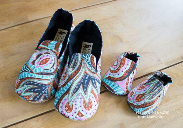 Mason Family Shoes Set PDF Pattern
