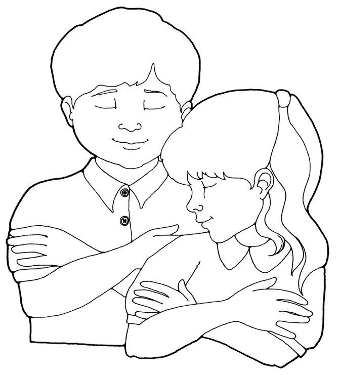 prayer coloring sheet lds primary More LDS Greats at ...