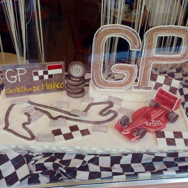 #PortHercule #cake#gâteau#monaco#f1#circuit by maurilot from #Montecarlo #Monaco