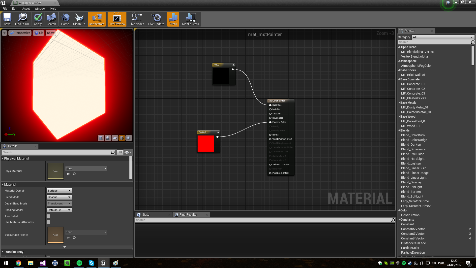 Emissive Color Tonemapping Bloom Fix Unreal With Images