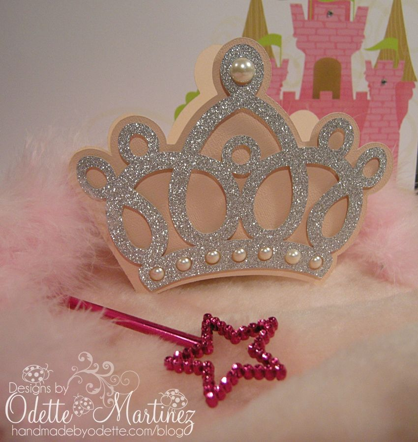 Easy DIY Crown invitations for Princess Birthday Party – Diy Princess Party Invitations