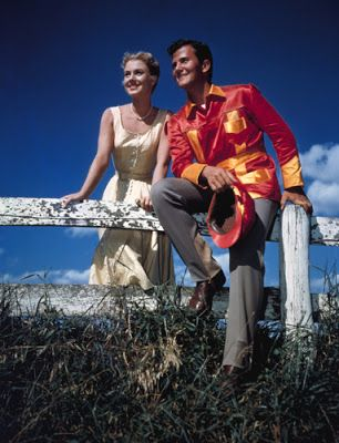shirley jones amp pat boone in quot april love quot fashion from