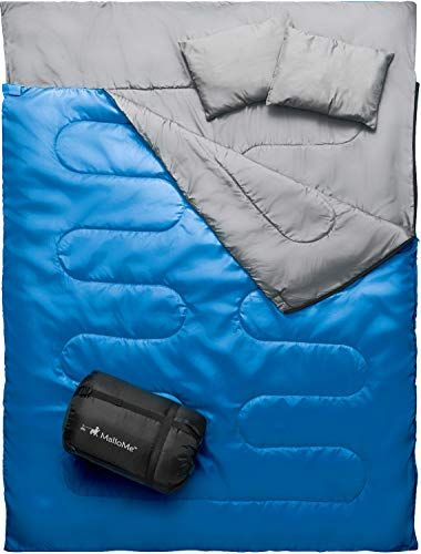 Photo of MalloMe Camping Sleeping Bag – 3 Season Warm & Cool Weather – Summer, Spring, Fall, Lightweight, Waterproof for Adults & Kids – Camping Gear Equipment, Traveling, and Outdoors – Online Shopping USA