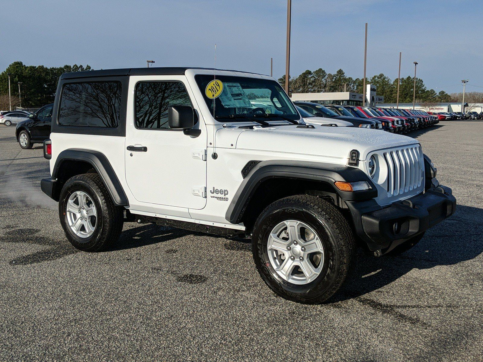 Preowned 2019 jeep wrangler sport s 4wd convertible