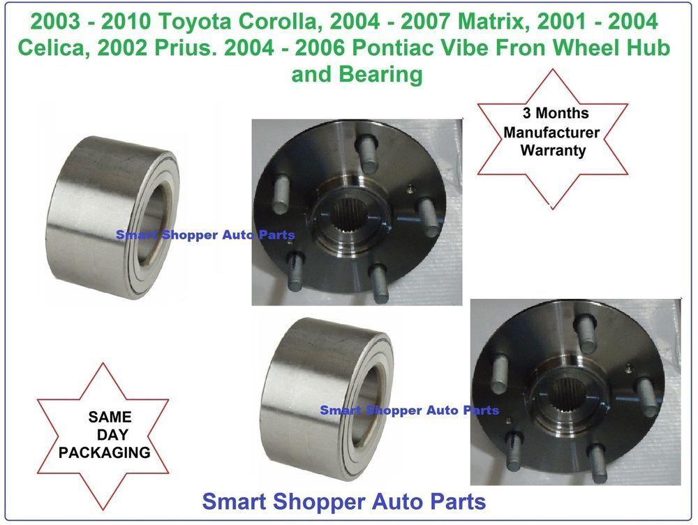 Toyota Corolla Matrix Prius Celica Pontiac Vibe Front Wheel