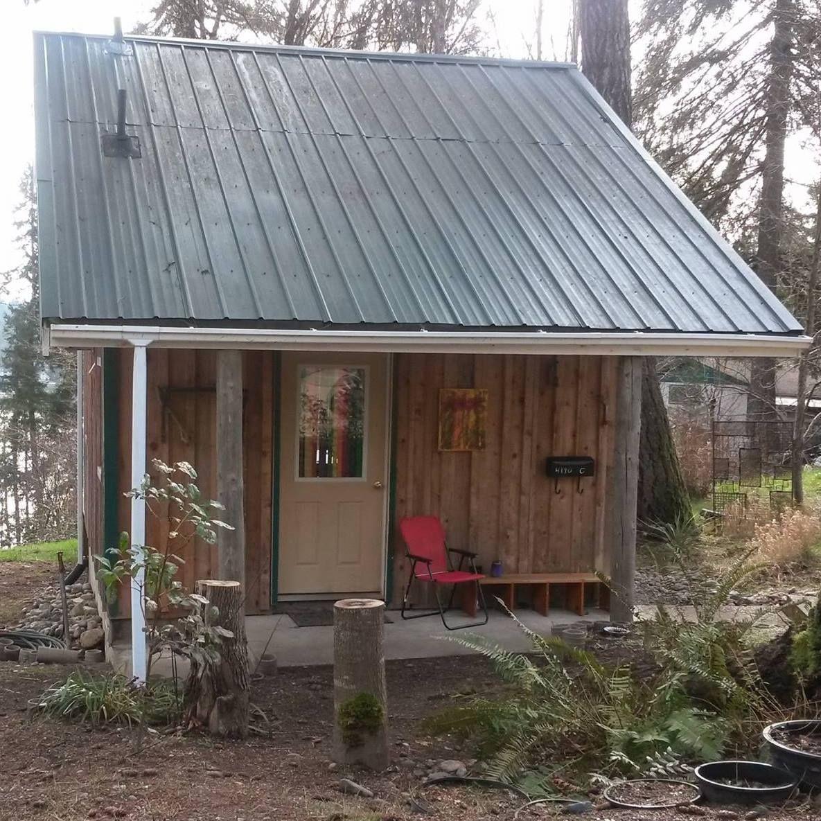 My Tiny House On Hammersley Inlet Shelton Wa Approx 350 Sq Ft Tiny House Outdoor Decor Micro House