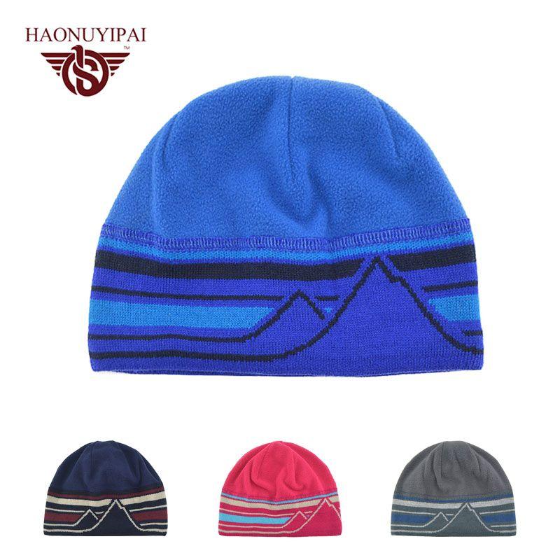 4a3da54d302 Click to Buy    Autumn Winter Hats Men And Women Cotton Beanies ...