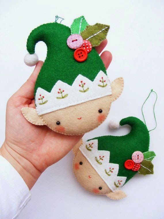 Diy decoration do it yourself christmas tree ornaments felt diy decoration do it yourself christmas tree ornaments solutioingenieria Image collections