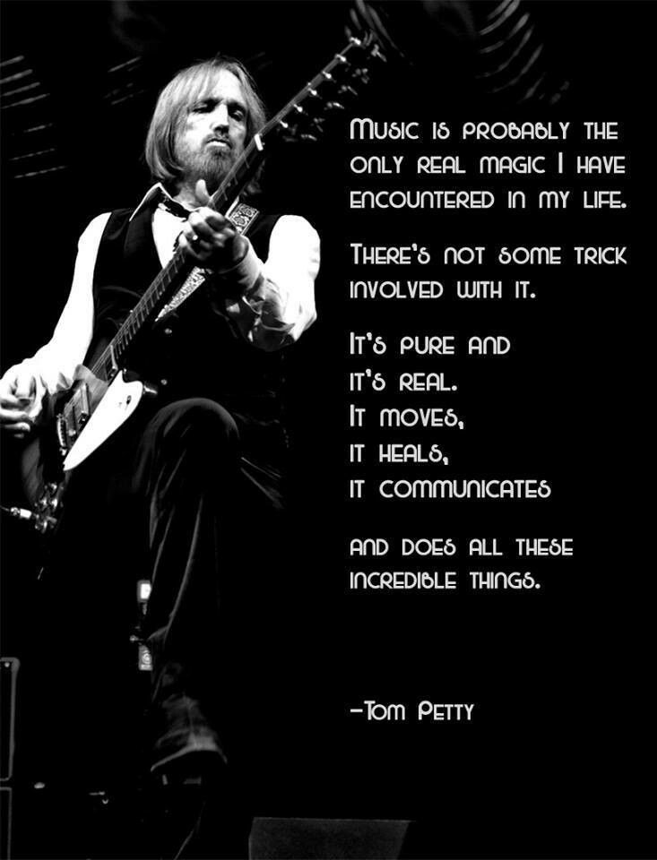 Happy Birthday Tom Petty!!! You Rock This World♥