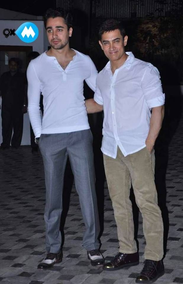 Imran Khan In White Tee Or Aamir Khan In A White Shirt Who Do