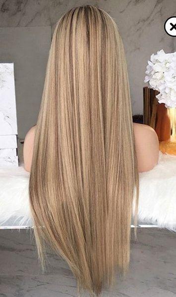 Clarissa ash blonde #darkblondehair