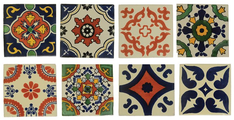Perini Tiles- Moroccan tile designs have been around for hundreds of yearsandcan be seen throughout Spain, the Mediterranean, Mexico, the USand Central and South America.