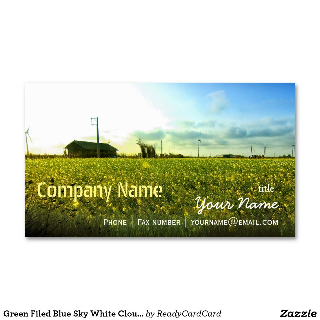 Green filed blue sky white cloud nature farm business card green filed blue sky white cloud nature farm business card magicingreecefo Choice Image