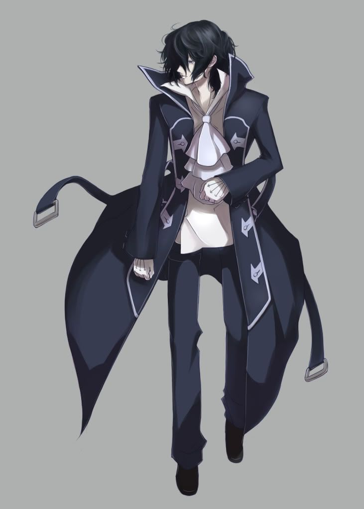 Anime Boy Trench Coat - Google Search  Drawing References -2739