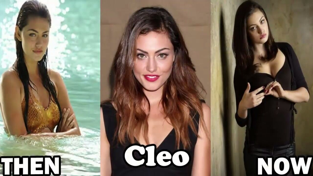 Ausmalbilder H2o Plötzlich Meerjungfrau Emma : Cleo As She Was In The Movie As She Is In Real Life And As She Is