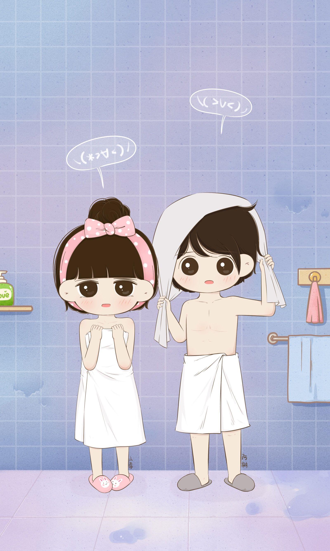 Aww Chintu Cute Love Cartoons Cute Couple Wallpaper Cute Couple Cartoon