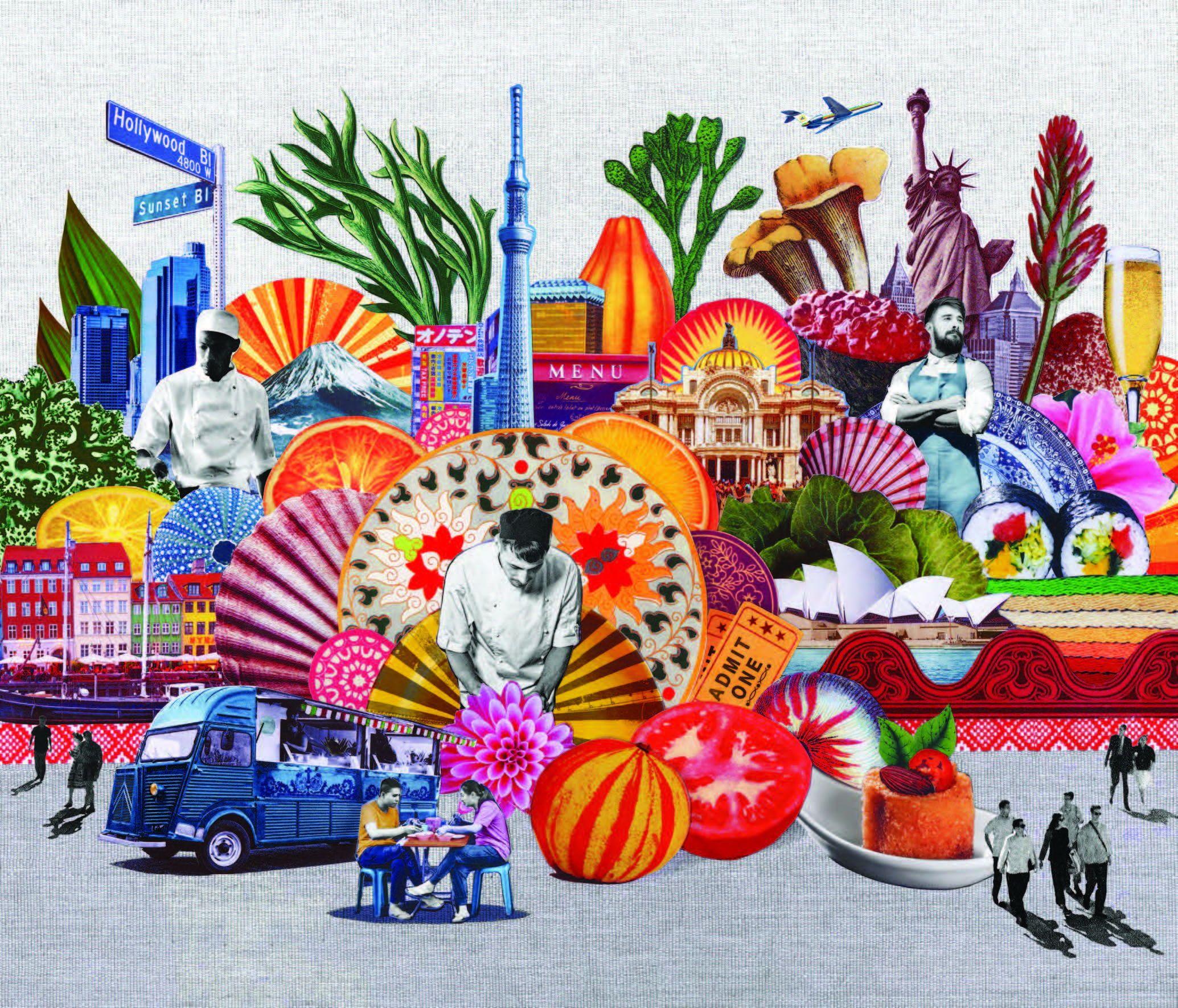 Issuu zines art illustratio n collage mixed media