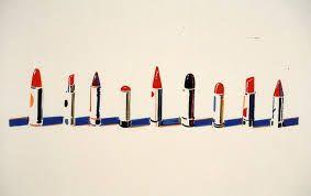 Image result for james rosenquist lipstick