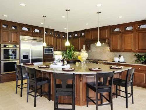 How To Design Kitchen Island Classy Kitchen Designssome Usefulness Of Big Kitchen Islands Inspiration Design