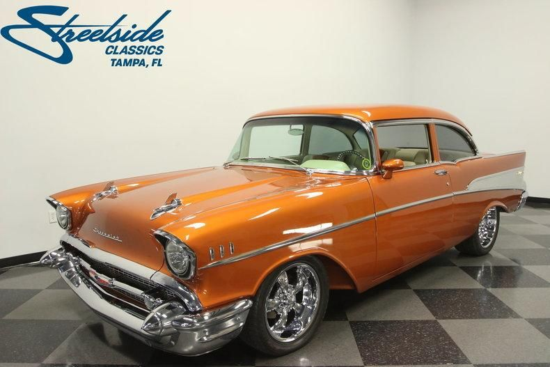 1957 Chevrolet 210 Restomod With Images Classic Cars
