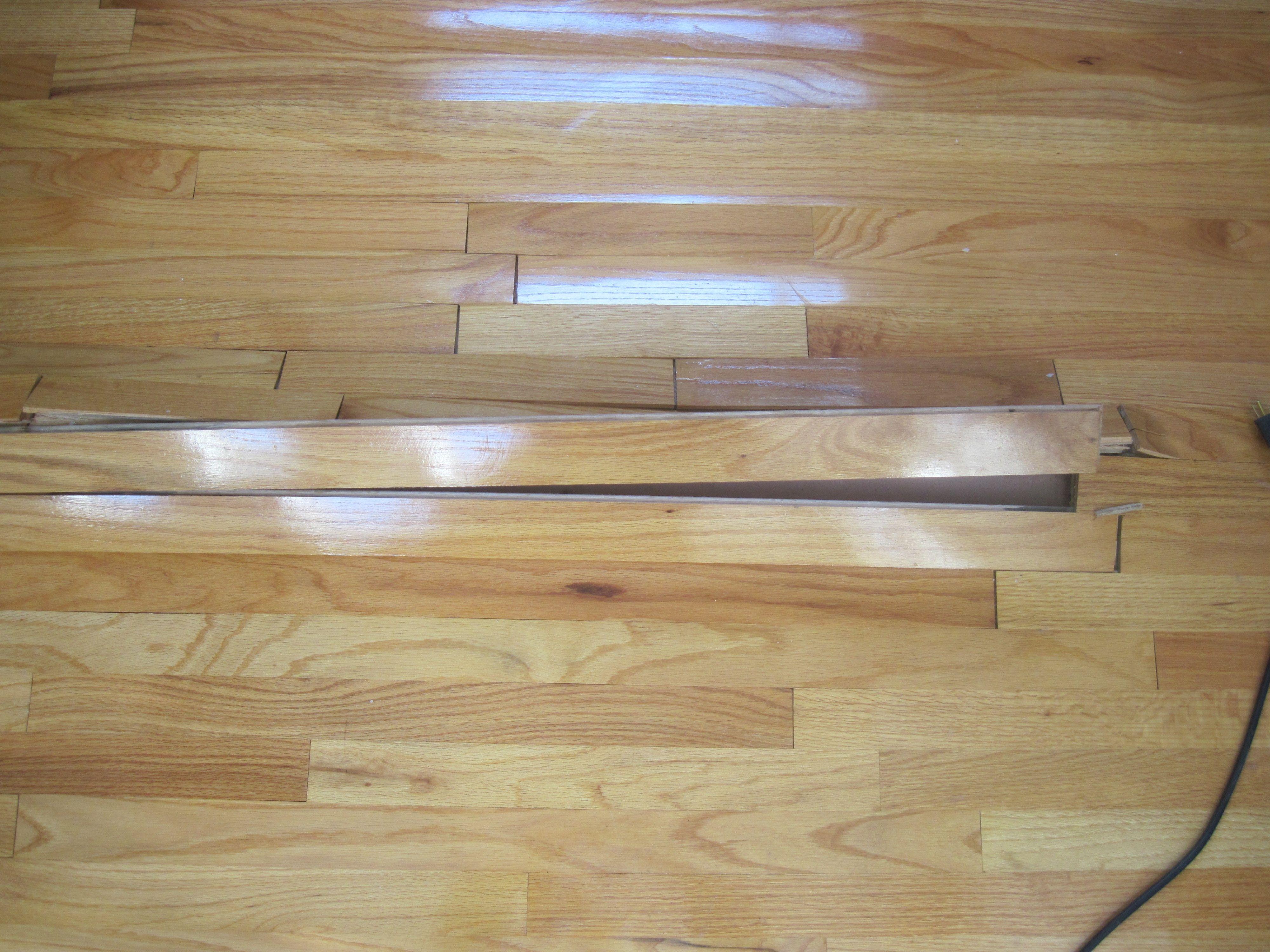 Water Damaged Engineered Hardwood Floors