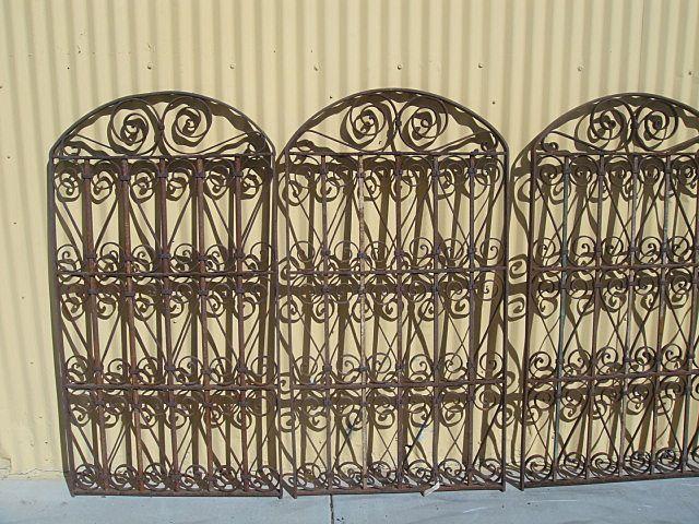 European Antique Iron Gate Antique Garden Gate (ONE AVAILABLE).
