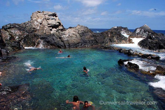Explore The Beauty Of Caribbean: Conchi- Aruba's Natural Pool