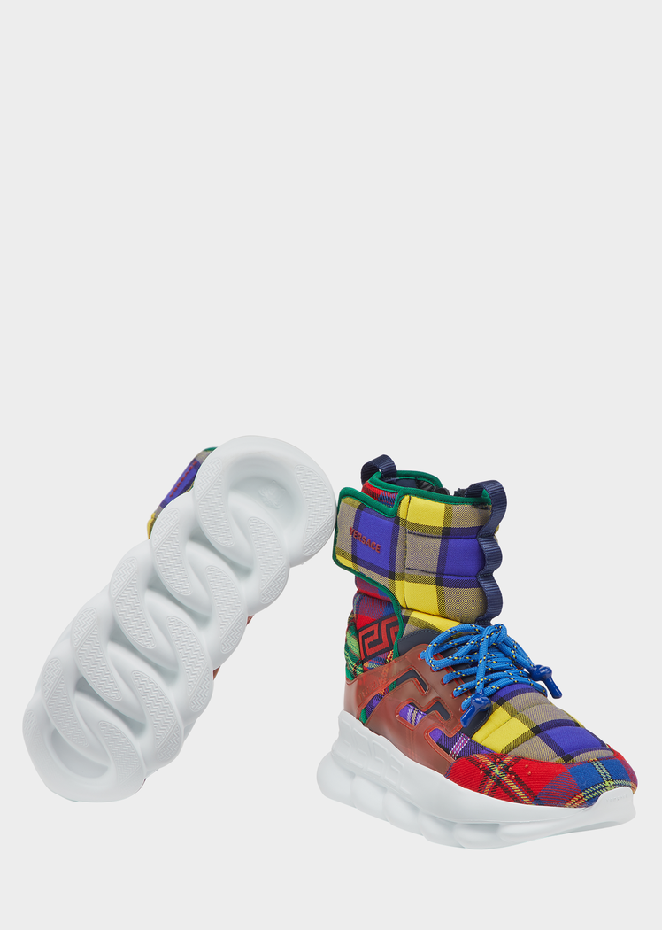 chain reaction sneaker boots