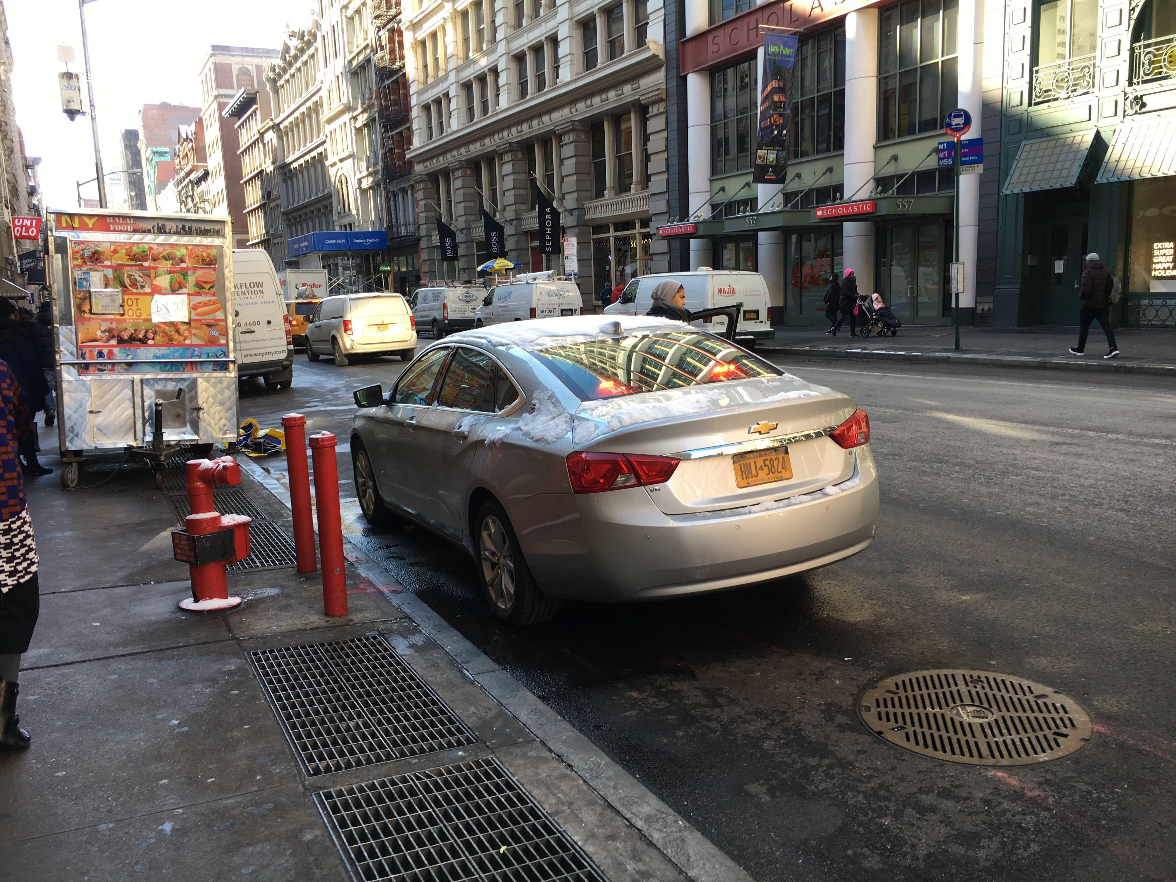 Unmarked Chevy Impala In New York City Chevy Impala Impala New