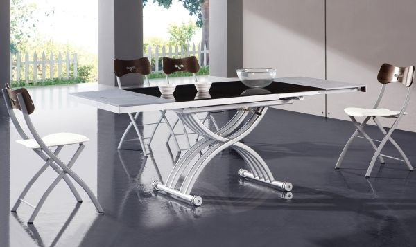 Moderne Esszimmermöbel Ideen klappstühle auszieh esstisch Jantar