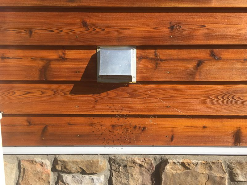 Best Dark Western Red Cedar Siding Stained With Sikkens Proluxe 400 x 300