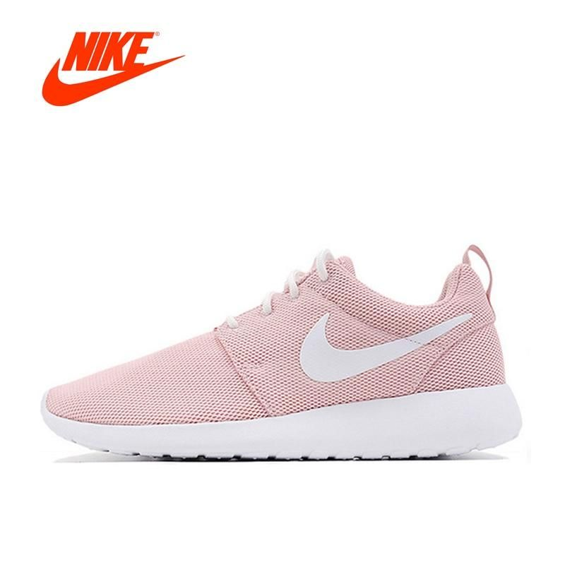 2eba65f282208 Original Nike Roshe Run One Breathable Women s Running Shoes Sports  Sneakers Classic New Arrival Offical Outdoor