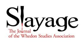Did you know there is an academic association devoted to Joss Whedon?  It puts out some AMAZING analysis and despite the name, isn't limited to Buffy.  Slayage: The Journal of the Whedon Studies Association